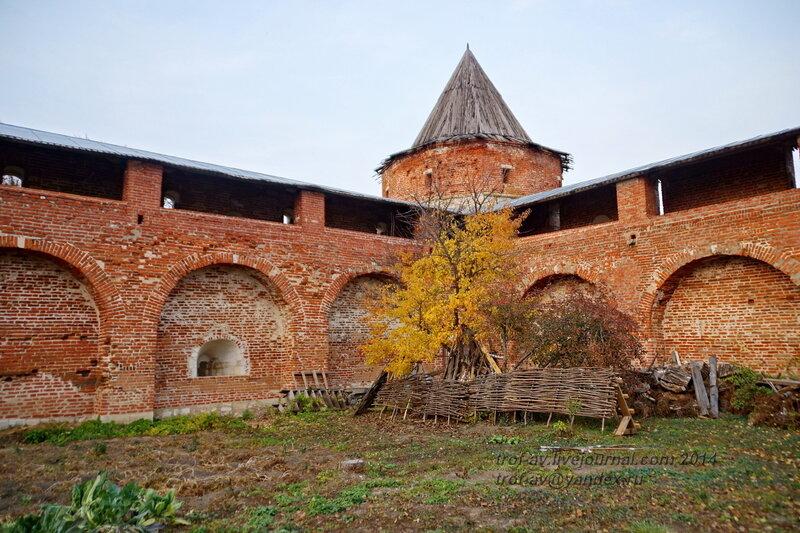 Казенная наугольная башня. Зарайский кремль