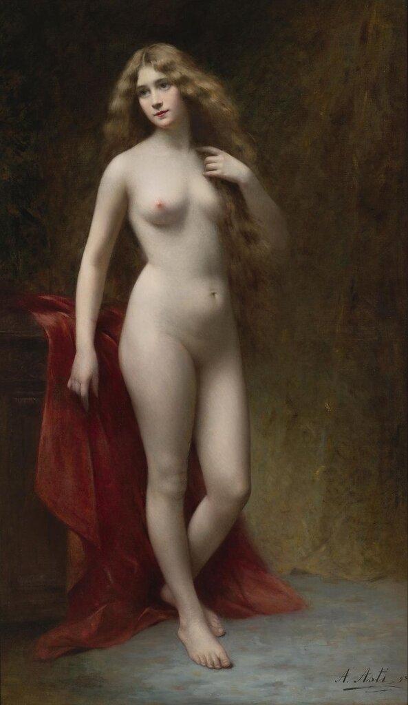 Angelo Asti, 1847-1903. Искренность. 180.3 х 106 см.jpg