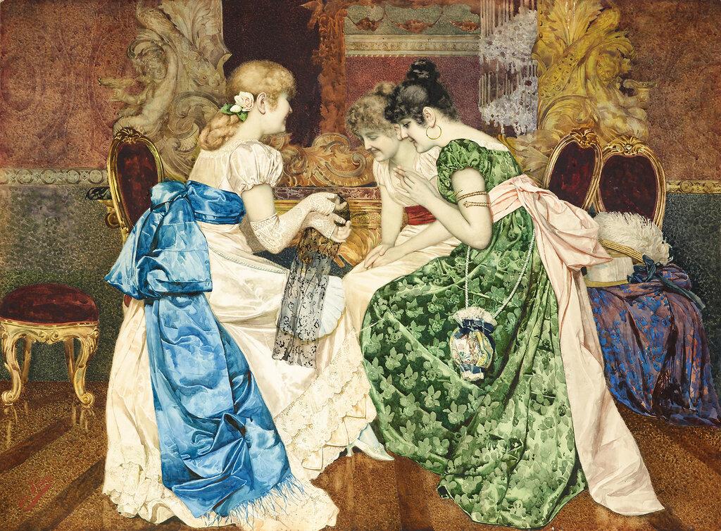 Battista Filosa, 1850-1935. ������ �������. 54.6 x 73.7 ��.jpg