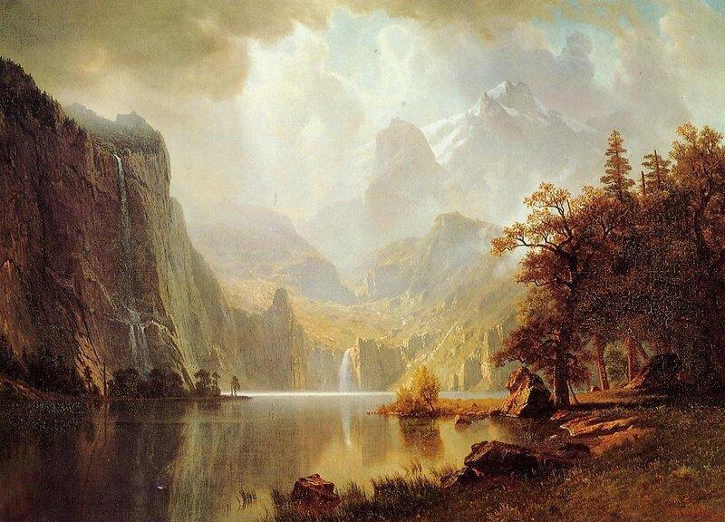 Albert Bierstadt. Известный американский пейзажист 19 века