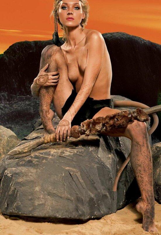 Кристина Асмус (Christine Asmus) в Maxim.
