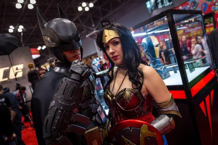 Comic Con 2014 в Нью Йорке