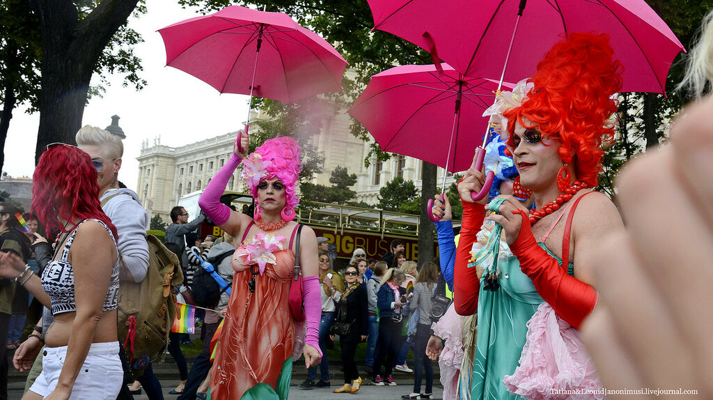 Гей-парад в Вене