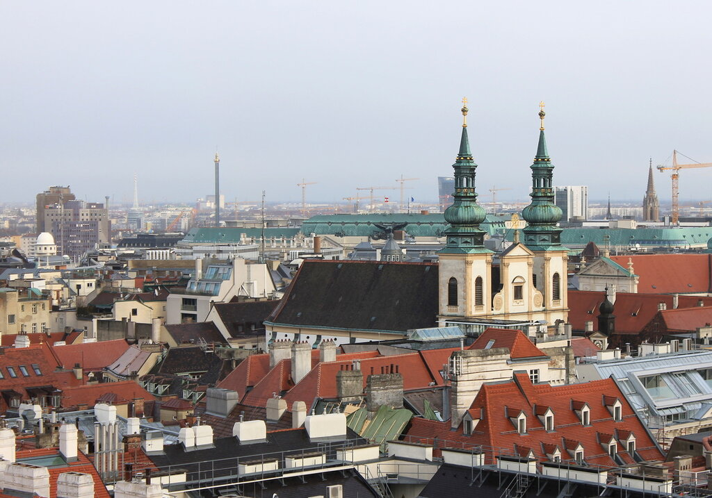 Vienna. View from Cathedral tower