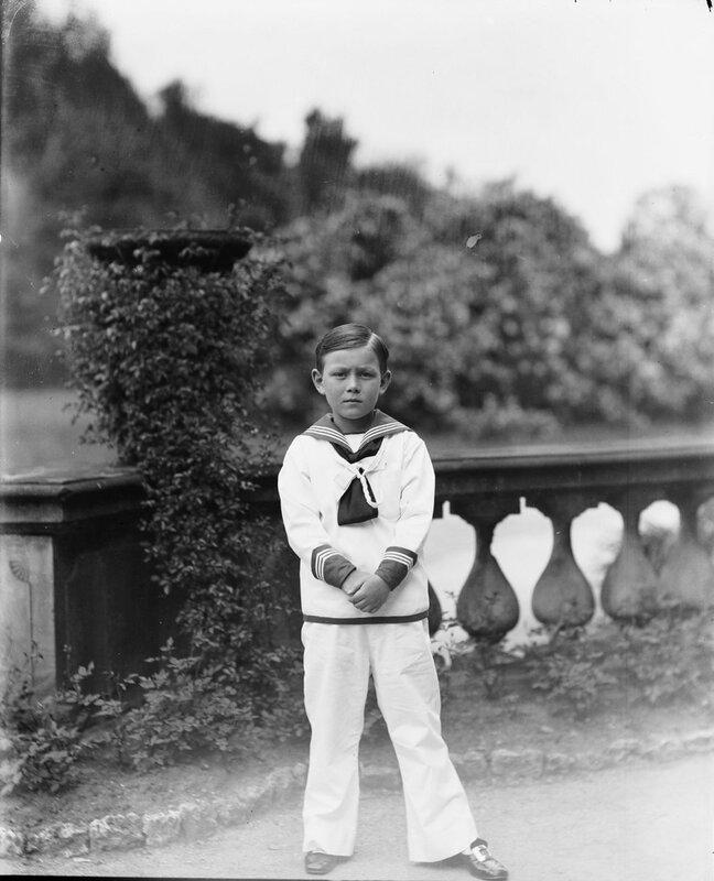 Принц Леннарт, герцог Смоландский, граф Бернадотт аф Висборг (1909-2004), 1914