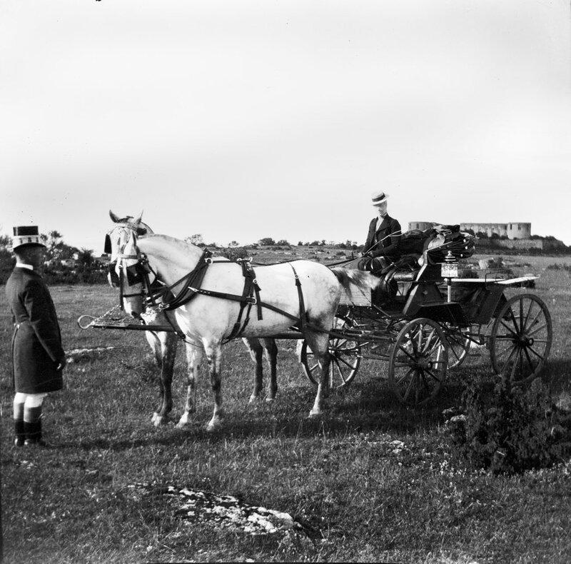 Королева Виктория в экипаже