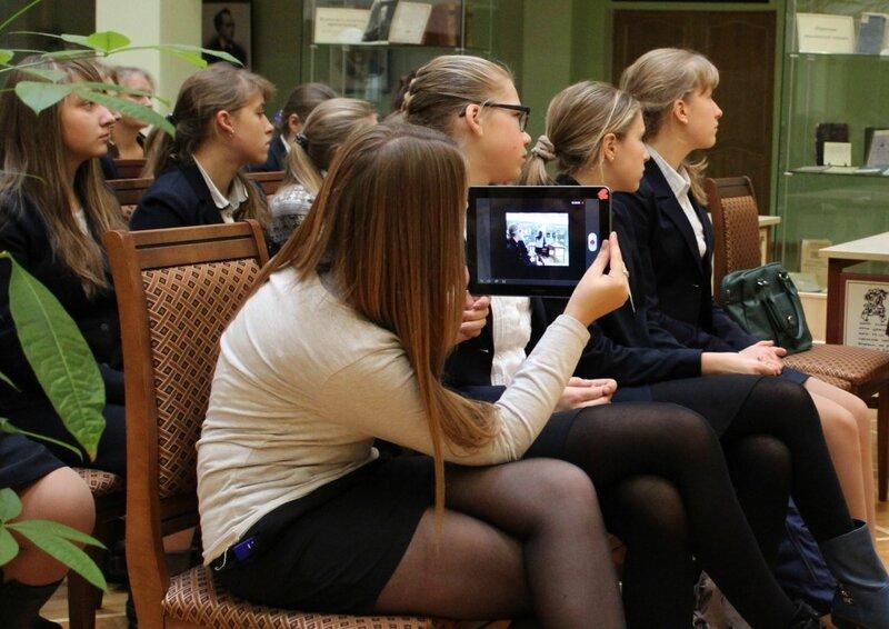 Пушкинская библиотека. 1 ноября 2014 г.