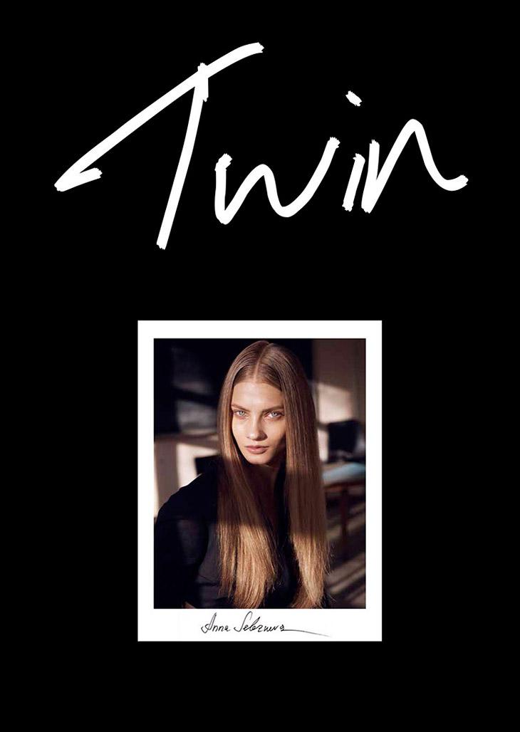 Анна Селезнева в свежем номере Twin Magazine