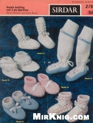 Журнал Sirdar Design №276. Babies Bootees And Knee Boots