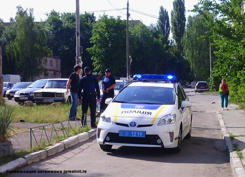 полиция киев копы