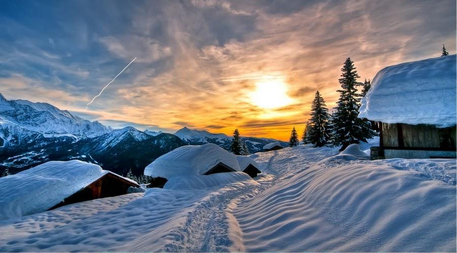 Красивые пейзажи.Фотограф   Жиль Феррье (Gilles Ferrier)