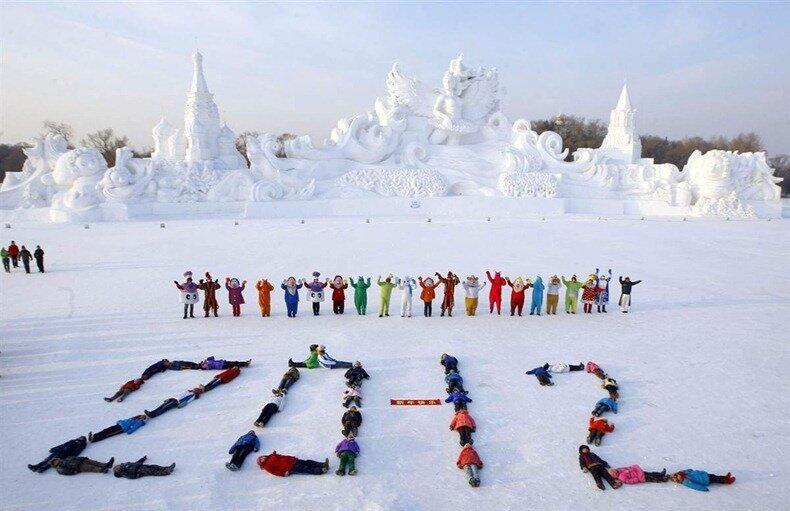 харбин ледовый фестиваль