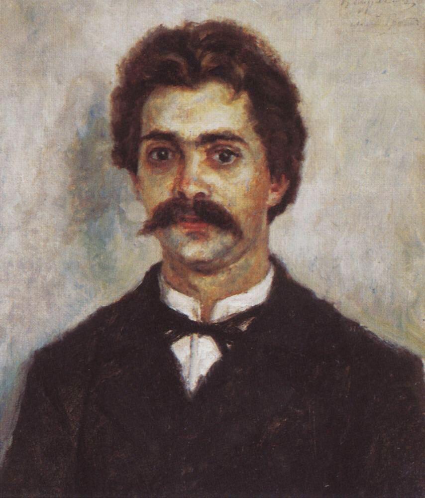Портрет брата, Александра Ивановича Сурикова. 1887-1890.