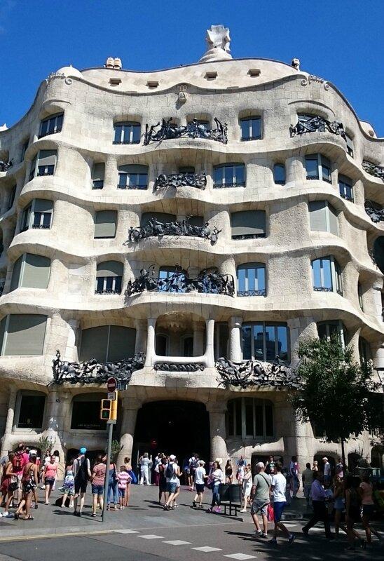 Барселона, дом Мила (Barcelona, Casa Mila)