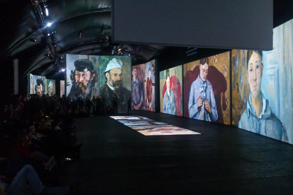 2015.04.04 - Москва. ArtPlay. Французские импрессионисты от Моне до Сезанна. Экспозиция. Фрагмент 3
