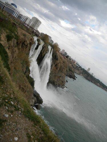 Дюден в Ларе (турецкие водопады)