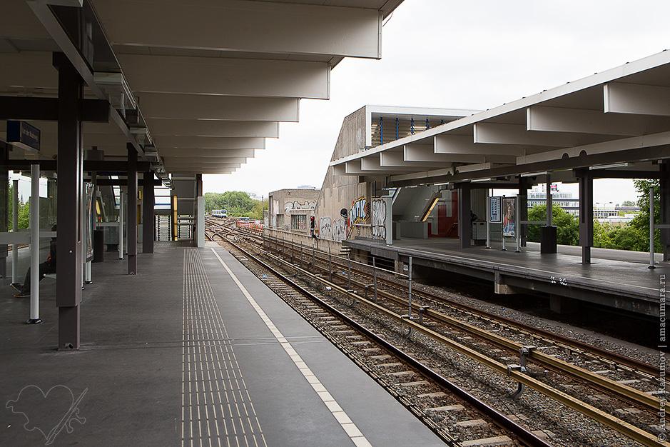метро в Амстердаме