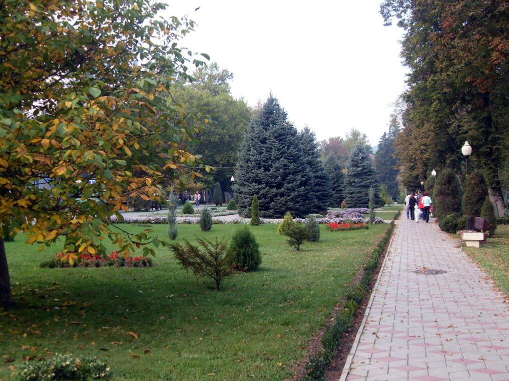 В Горячем Ключе, Октябрь 2009, туризм, Кубань, Кавказ