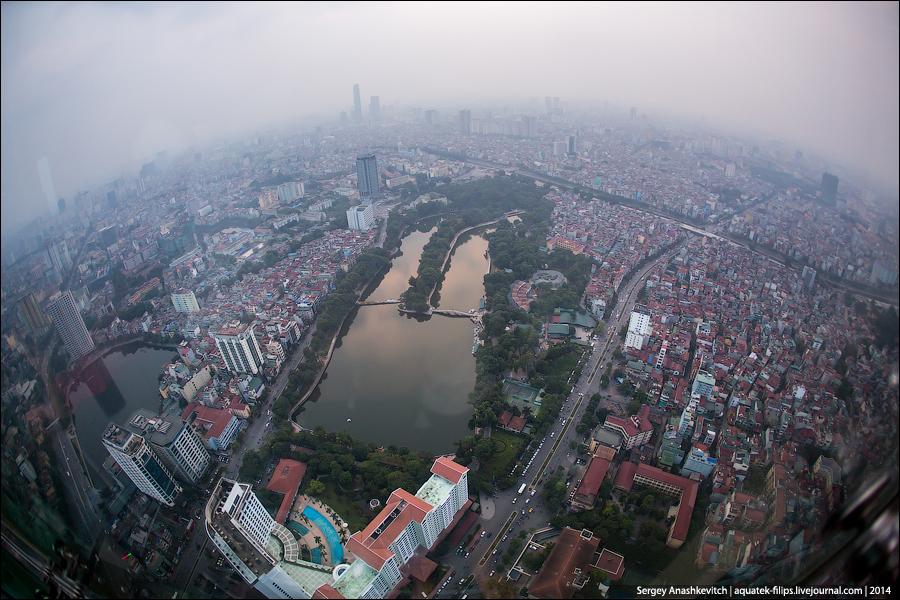 Прилет в Ханой