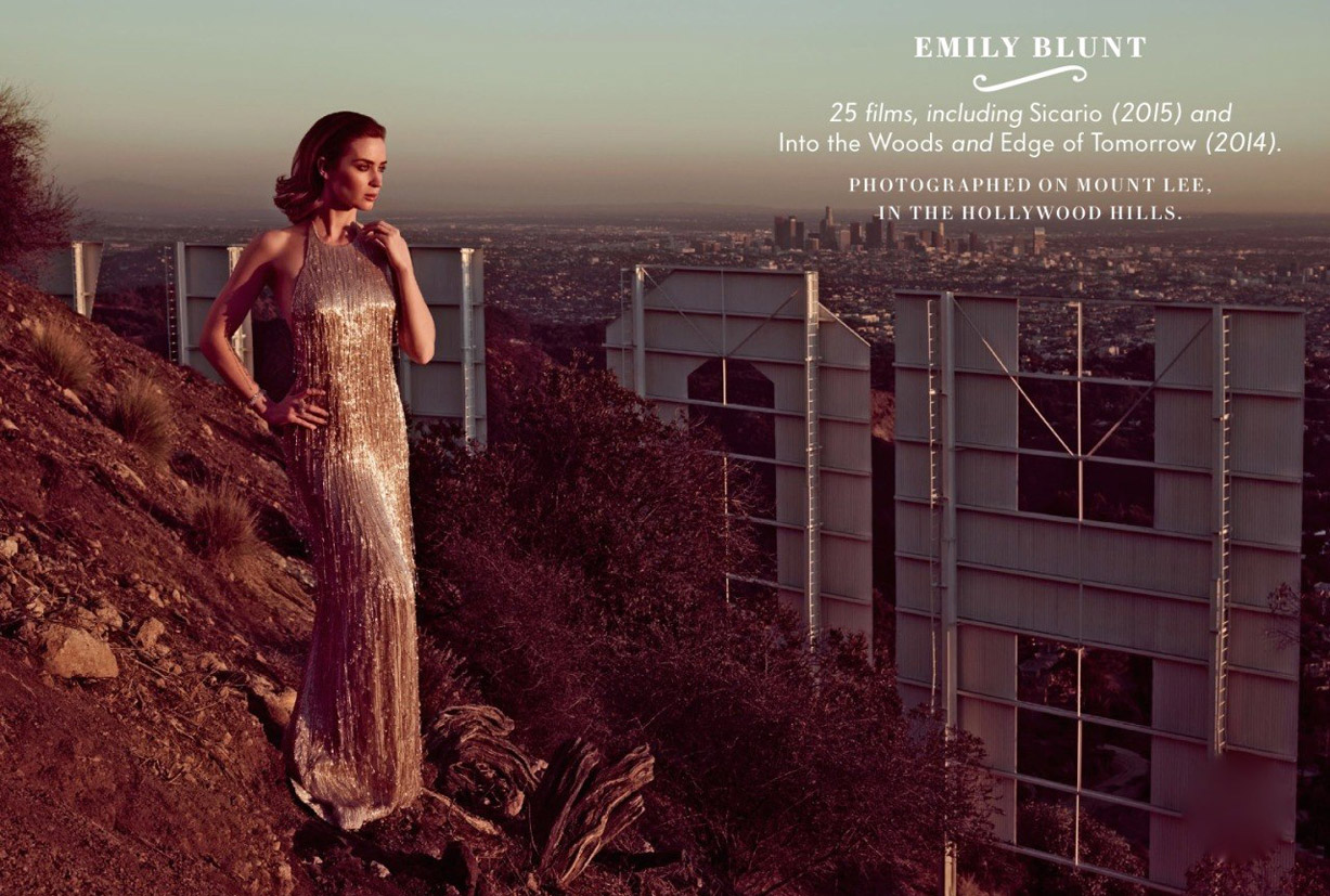 Лучшие британские актеры в проекте The 2015 Hollywood Portfolio by Jason Bell in Vanity Fair march 2015 - Эмили Блант / Emily Blunt