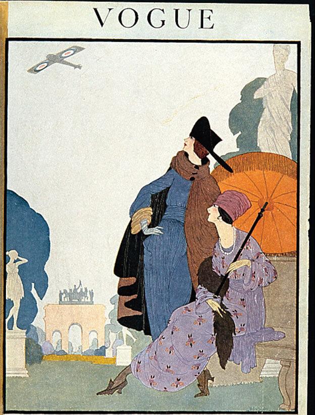 Vogue Magazine cover 1918