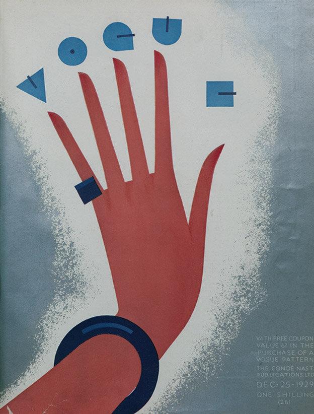 Vogue Magazine cover 1929