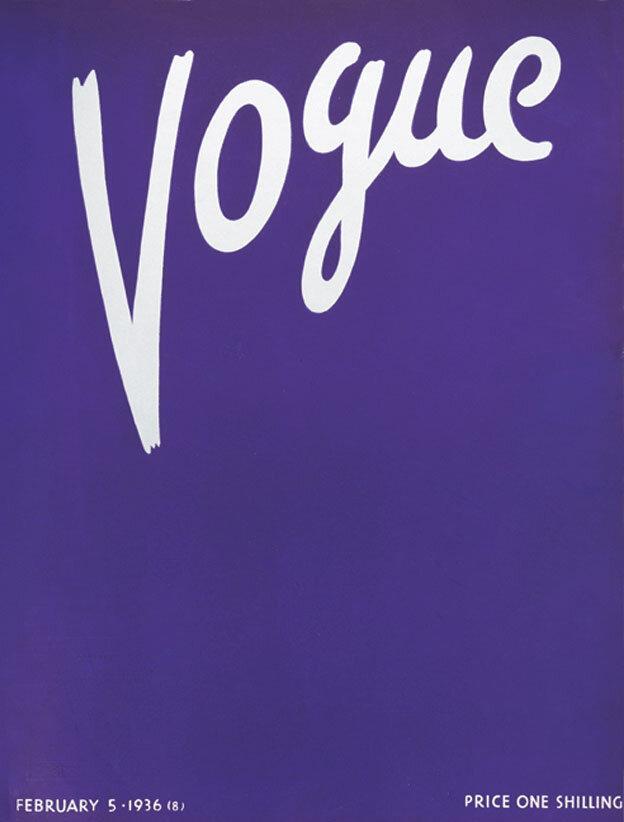 Vogue Magazine cover 1936