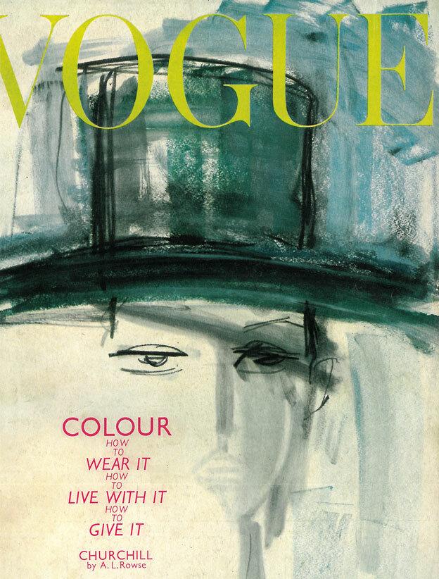 Vogue Magazine cover 1962