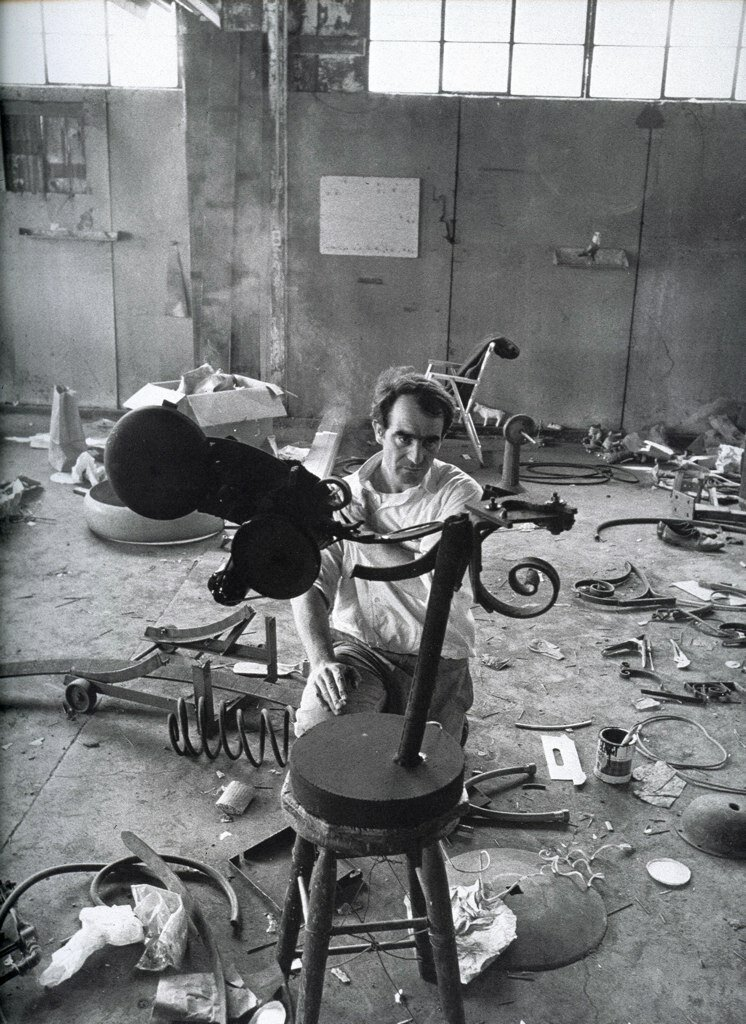 Dennis Hopper - Photographs from 1961 - 1967. Jean Tinguely, 1963