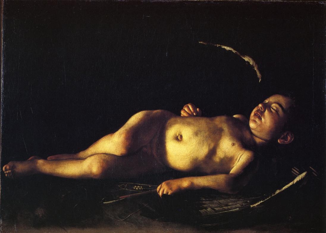 «Спящий амур» (Галерея Палатина, Палаццо Питти, Флоренция);