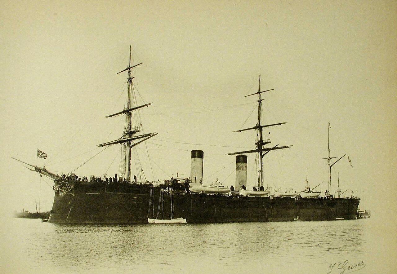 07. Вид крейсера «Рюрик»