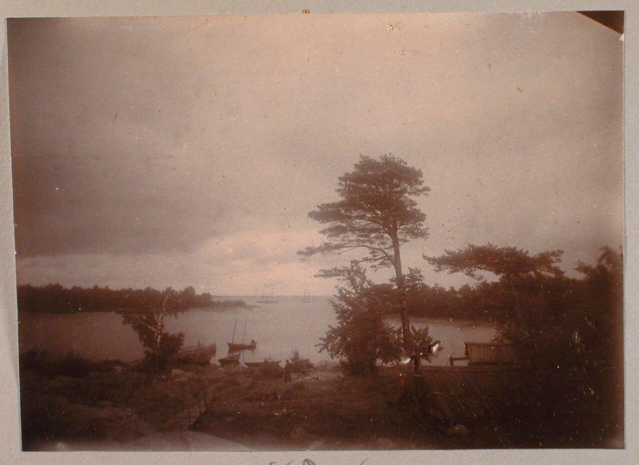 42. Вид местности у залива в окрестностях имения Монрепо