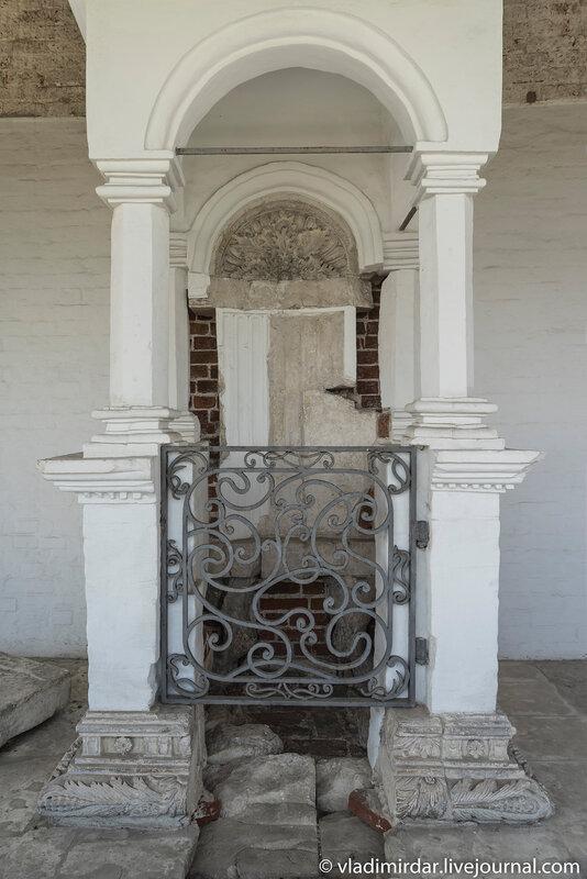 Царские врата. Храм Вознесения Господня в Коломенском.