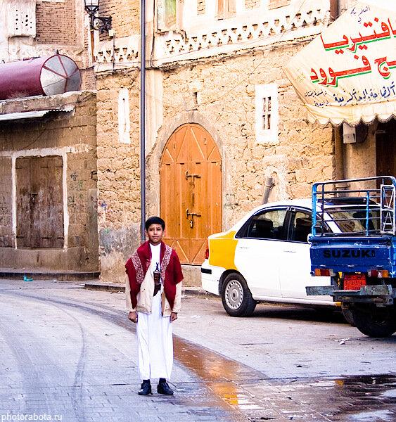Праздники в Йемене, дети