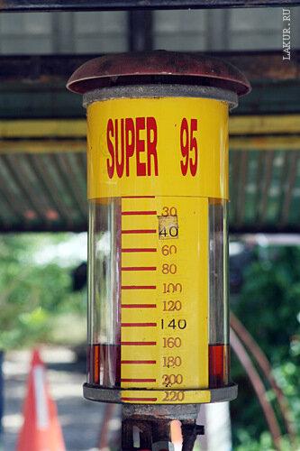 таиланд скутер топливо