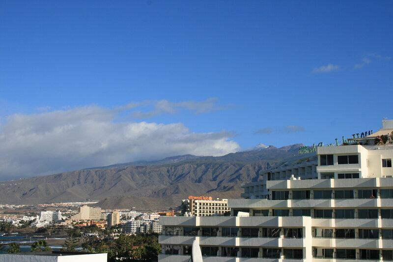 Вид на Тейде из Парка Сантьяго 2