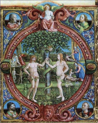 Адам, Ева и зелёный Змий