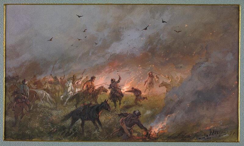 Пугачевщина в Сибири. Поражение под Троицком 21-го мая 1774 г