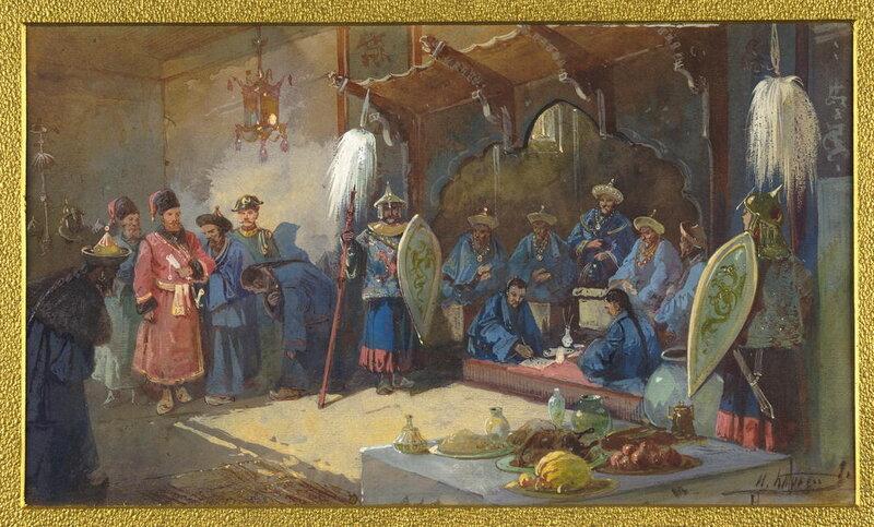 Разведки сотника Волошенина в Семиречьи и Илийскои долине в 1771 году.
