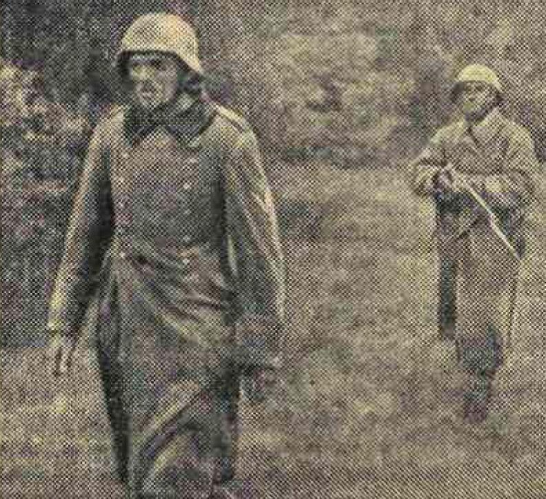 «Известия», 20 августа 1941 года, как русские немцев били, потери немцев на Восточном фронте, пленные немцы, пленные немцы в советской армии, немцы в советском плену