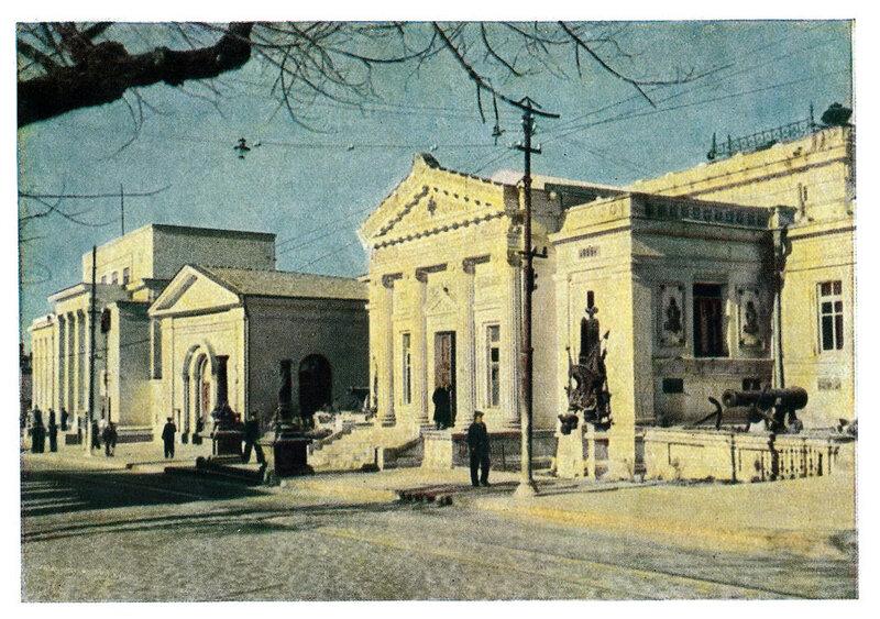1949 Севастопольский исторический Морской Музей Шагин.jpg