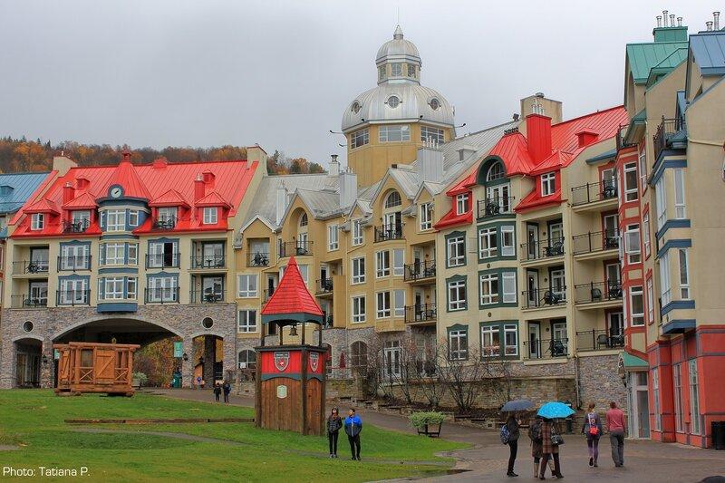Разноцветный городок