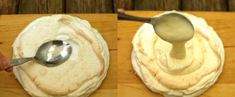 Торт Павлова - простой пошаговый рецепт с фото #12.