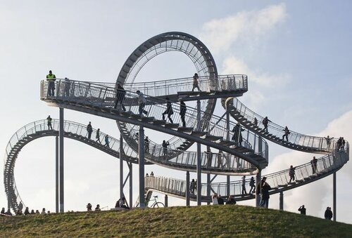 Tiger & Turtle – Magic Mountain