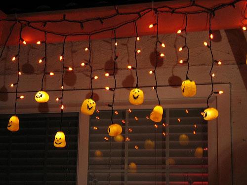 Осенний декор комнат