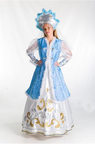 Женский карнавальный костюм Зима