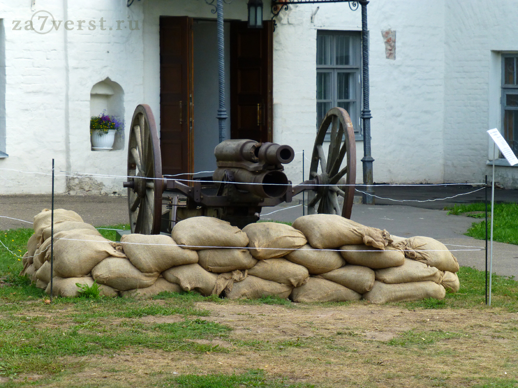 76-мм артиллерийское орудие