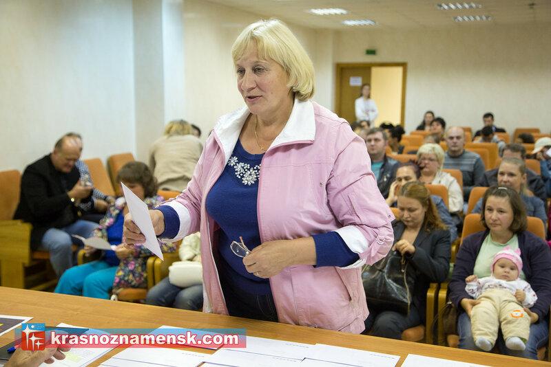Распределение земли многодетным семьям в Краснознаменске