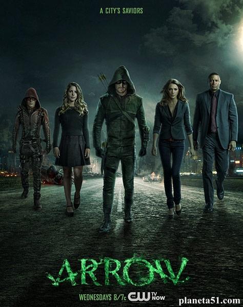 Стрела (1-3 сезон) / Arrow / 2012-2014 / ПМ (LostFilm) / WEB-DLRip