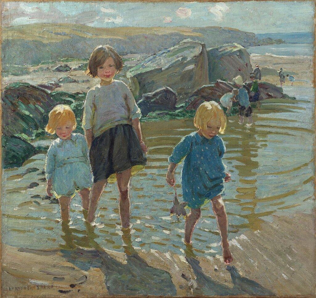 Dorothea Sharp - Children on a beach - 100219-20.jpg